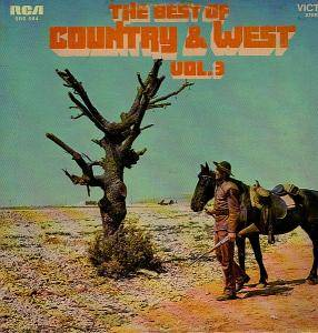 Best Of Country & West Vol. 3, The - Cover