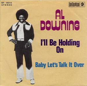 Cover - Al Downing: I'll Be Holding On