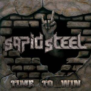 Sapid Steel: Time To Win - Cover