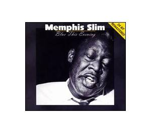 Cover - Memphis Slim: Blue This Evening