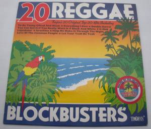 Cover - Nicky Thomas: 20 Reggae Blockbusters