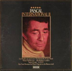 Cover - Jean-Claude Pascal: International II
