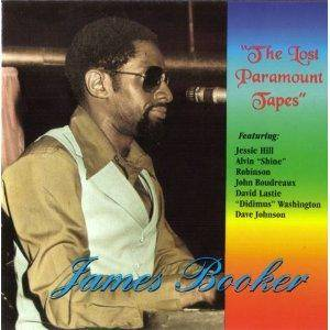 Cover - James Booker: Lost Paramount Tapes, The