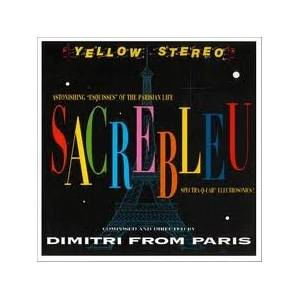 Cover - Dimitri From Paris: Sacrebleu
