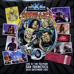 Metallica: Live At The Fillmore San Francisco 10th December 2011 - Cover