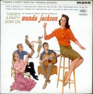 Cover - Wanda Jackson: There's A Party Goin' On