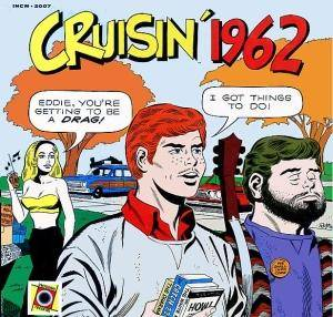 Cover - Sensations, The: Cruisin' 1962