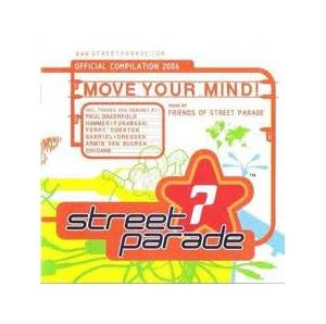 Cover - Solar Stone: Street Parade 2006 Compilation Move Your Mind