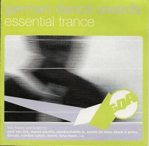 Cover - 3 Phase & Dr. Motte: German Dance Awards - Essential Trance