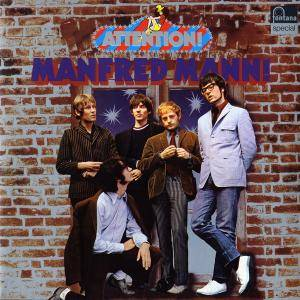 Manfred Mann: Attention! Manfred Mann! - Cover