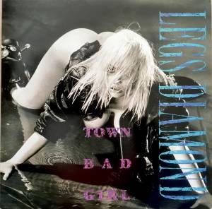 Cover - Legs Diamond: Town Bad Girl