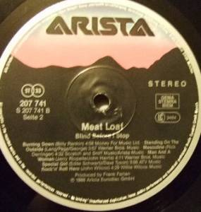 Meat Loaf: Blind Before I Stop (LP) - Bild 5