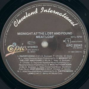 Meat Loaf: Midnight At The Lost And Found (LP) - Bild 3