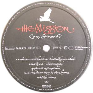 The Mission: Carved In Sand (LP) - Bild 3