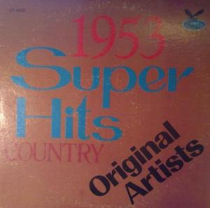 Cover - Various Artists/Sampler: Super Hits 1953 - Original Artists