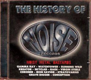 Cover - Watchtower: History Of Noise Records - Noisy Metal Bastards, The