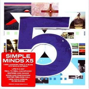 Cover - Simple Minds: X5