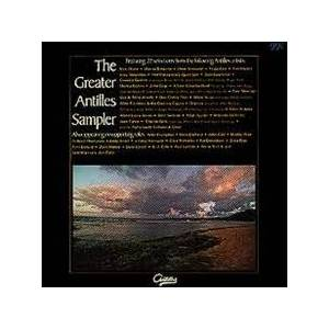 Cover - Tom Newman: Greater Antilles Sampler, The