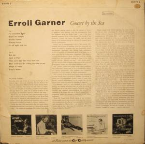 Erroll Garner: Concert By The Sea (LP) - Bild 2