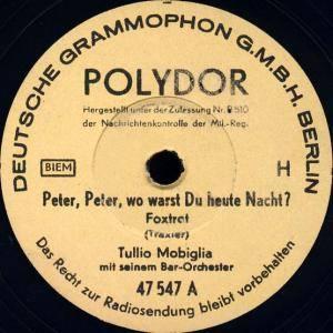 Tullio mobiglia peter peter wo warst du heute nacht for Mobiglia o mobiglia