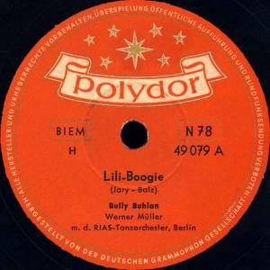 Cover - Bully Buhlan: Lili-Boogie