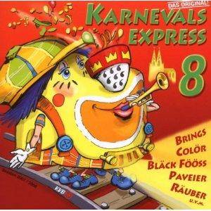 Cover - Loss Mer Fiere: Karnevals Express 8