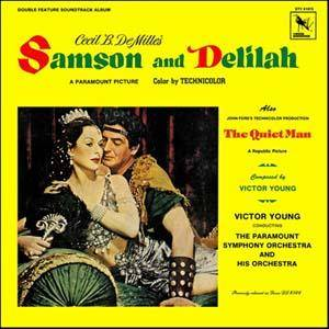 Cover - Victor Young: Samson And Delilah / The Quiet Man
