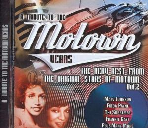 Tribute To The Motown Years Vol. 2, A - Cover