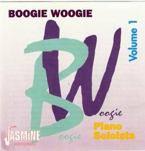 Boogie Woogie Vol.1/ Piano Soloists - Cover