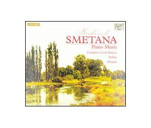 Cover - Bedřich Smetana: Piano Music