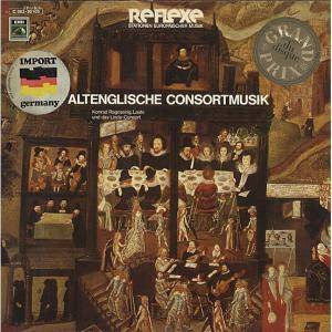 Cover - Anthony Holborne: Altenglische Consortmusik
