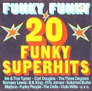 Cover - Al Downing: Funky Funky 20 Funky Superhits