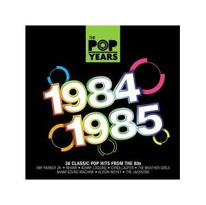 Pop Years 1984-1985, The - Cover