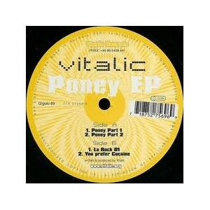 Cover - Vitalic: Poney EP