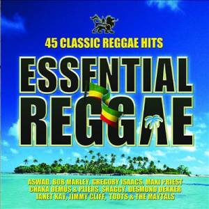 Cover - Tony Tribe: Essential Reggae - 45 Classic Reggae Hits