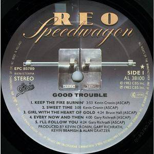 REO Speedwagon: Good Trouble (LP) - Bild 3