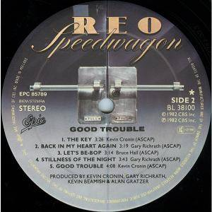 REO Speedwagon: Good Trouble (LP) - Bild 4