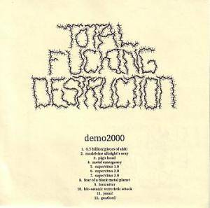 Cover - Total Fucking Destruction: Demo2000