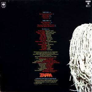 Frank Zappa: Joe's Garage Act I (LP) - Bild 2