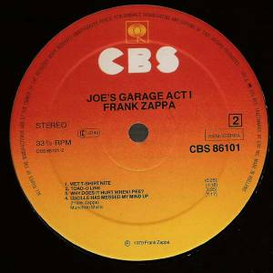 Frank Zappa: Joe's Garage Act I (LP) - Bild 4