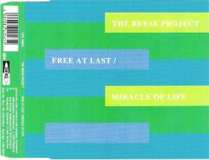 Cover - Reese Project, The: Free At Last / Miracle Of Life