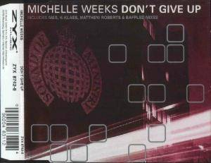 Cover - Michelle Weeks: Don't Give Up