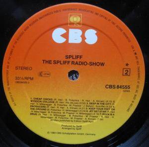 Spliff: The Spliff Radio Show (LP) - Bild 6