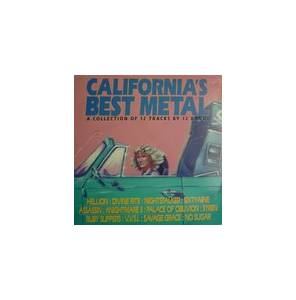 California's Best Metal - Cover