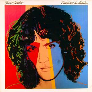 Billy Squier: Emotions In Motion - Cover