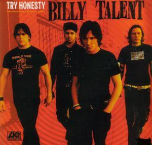 Billy Talent: Try Honesty - Cover