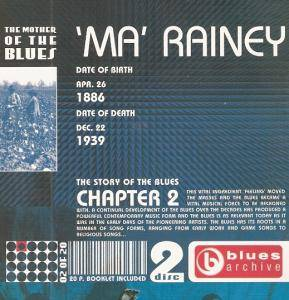 Cover - Ma Rainey: Story Of The Blues, Chapter 2, The