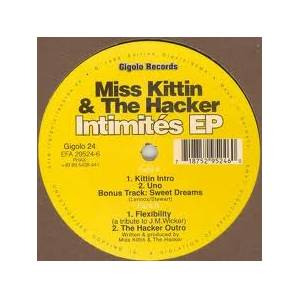 Cover - Miss Kittin & The Hacker: Intimités EP