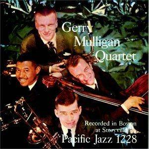 Cover - Gerry Mulligan Quartet: At Storyville