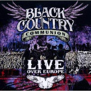 Black Country Communion: Live Over Europe - Cover